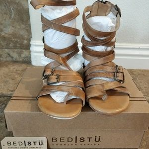BED STU gladiator style sandals